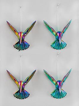 gisela-graham-hummingbird-christmas-tree-decorations-4-pack