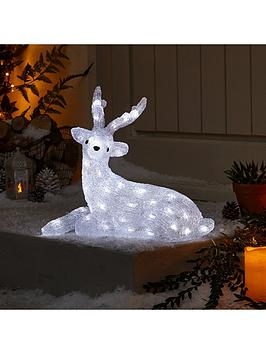 spun-acrylic-light-up-reindeer-with-antlers-outdoor-christmas-decoration