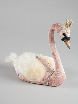 pink-swan-christmas-decoration