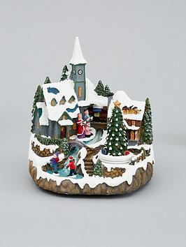 muscial-polyresin-christmas-village-scene-decoration
