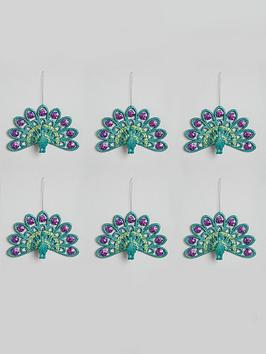 peacock-christmas-tree-decorations-6-pack