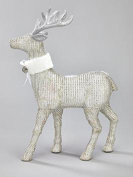 diamante-stag-christmas-decoration