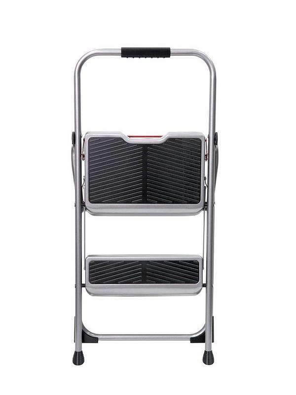 Awe Inspiring 2 Step Stepstool Steel Bralicious Painted Fabric Chair Ideas Braliciousco