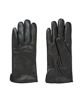 v-by-very-veda-leather-glove-black