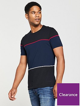 v-by-very-colour-block-tee-navyblack