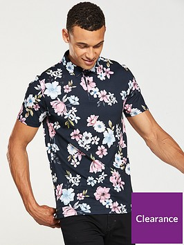 v-by-very-floral-print-polo-multi