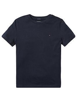 tommy-hilfiger-boys-essential-flag-t-shirtnbsp--navy