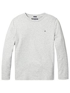 tommy-hilfiger-boys-essential-long-sleeve-flag-t-shirtnbsp--grey-heather