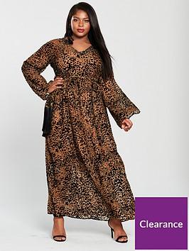 lost-ink-plus-maxi-dress-with-fringe-belt-animal-printnbsp