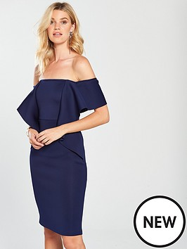 lavish-alice-off-the-shoulder-folded-midi-dress-navy
