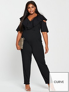 lost-ink-plus-lost-ink-plus-jumpsuit-with-cold-shoulder-in-rib