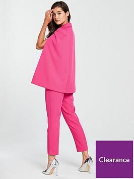 9e3f75d8a47 Lavish Alice Lavish Alice Cape Blazer Tailored Jumpsuit - Pink ...