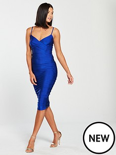 ax-paris-strappy-slinky-plunge-midi-dress-cobalt