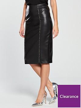lost-ink-pu-stud-detail-pencil-skirt-blacknbsp