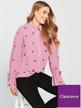 lost-ink-scatter-spot-sequin-shirt-blushnbsp