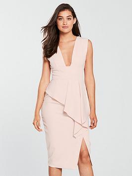 lavish-alice-asymmetric-plunge-midi-bodycon-dress-nude