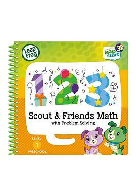 LeapFrog  Leapfrog Leapstart 3D &Ndash; Scout &Amp; Friends Math Activity Book