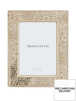 moroccan-collection-gold-painted-metal-photo-frame-ndash-5-x-7-inch