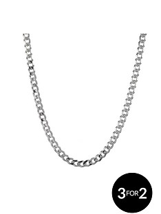 the-love-silver-collection-sterling-silver-12oz-solid-diamond-cut-curb-chain