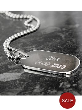 personalised-stainless-steel-dog-tag-pendant