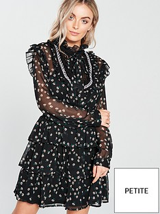 v-by-very-petite-shirred-waist-tiered-dress-printednbsp