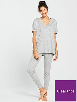v-by-very-v-neck-knitted-lounge-set-grey-marl