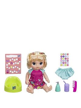 Baby Alive   Potty Dance Baby (Blonde Straight Hair)