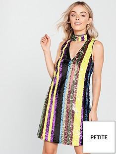 v-by-very-petite-choker-stripe-sequin-dress-multinbsp