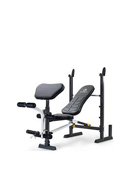 marcy-folding-standard-weight-bench-with-rack