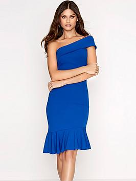 girls-on-film-one-shouldernbspfrill-hem-bodycon-dress