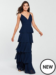 forever-unique-forever-unique-waterfrill-maxi-dress-navy
