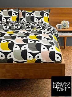 orla-kiely-house-big-owl-cottonnbspduvet-covernbsp