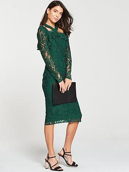 v-by-very-cold-shoulder-pencil-dress-green