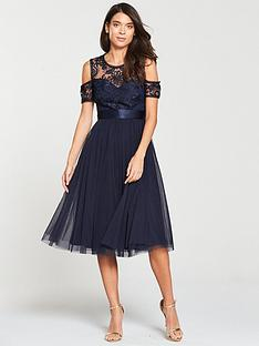 v-by-very-bridesmaid-cold-shoulder-prom-dress-navy