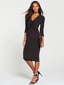 v-by-very-ruched-front-ity-bodycon-dress-print
