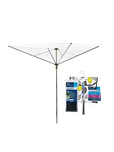 minky-easy-breeze-45-metre-rotary-airer-with-accessory-pack
