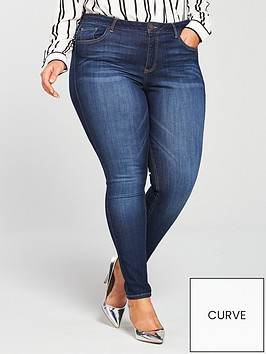 v-by-very-curve-premium-ultrasoft-skinny-jean-dark-wash