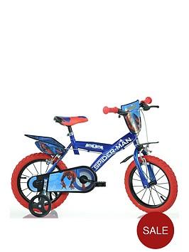 spiderman-14inch-bike