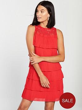 little-mistress-lace-top-tiered-mini-dress-red