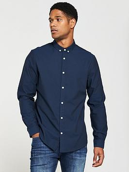 v-by-very-mens-long-sleeved-button-down-oxford-shirt-navy
