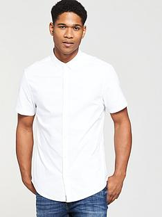 v-by-very-short-sleeved-oxford-shirt