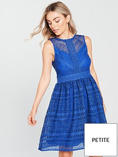 little-mistress-petite-lace-sleeveless-mini-dress-azure-blue