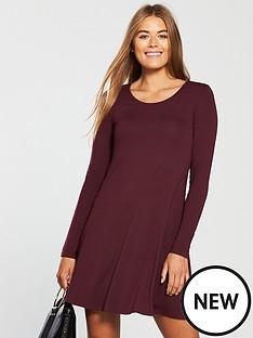 v-by-very-long-sleeve-jersey-swing-dress
