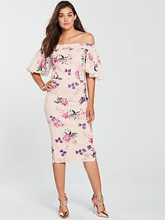 true-violet-true-violet-bardot-floral-scuba-midi-dress-blush