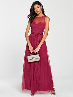 little-mistress-mesh-top-maxi-dress-berry