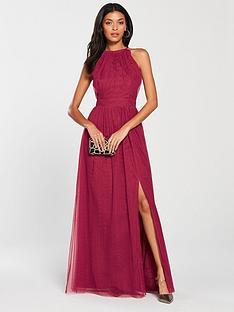 little-mistress-mesh-halter-neck-maxi-dress-berry