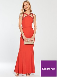 little-mistress-embellished-cross-strap-maxi-dress-burnt-orange