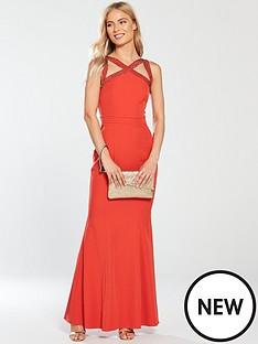 little-mistress-embellished-cross-strap-maxi-dress-burnt-orange