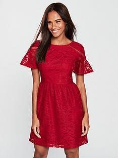 v-by-very-jersey-lace-tea-dress-berry