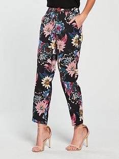 vero-moda-wilma-sofia-co-ord-pants-blackprintnbsp